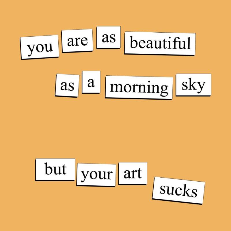 A Morning Sky Men's T-Shirt by depressing fridge poems's Artist Shop