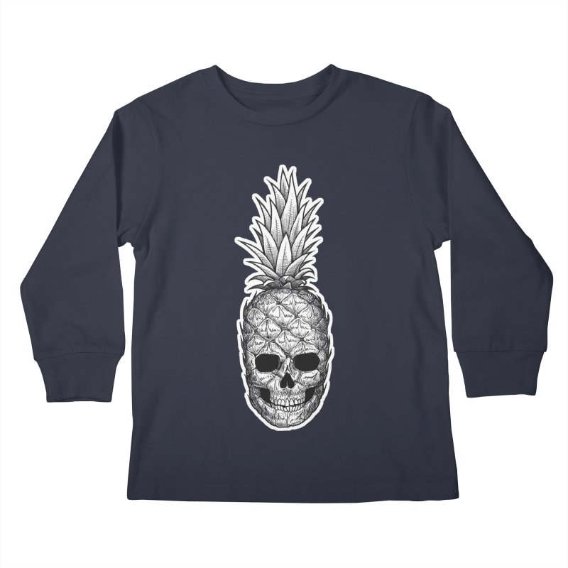 Ripe Kids Longsleeve T-Shirt by DEROSNEC's Art Shop