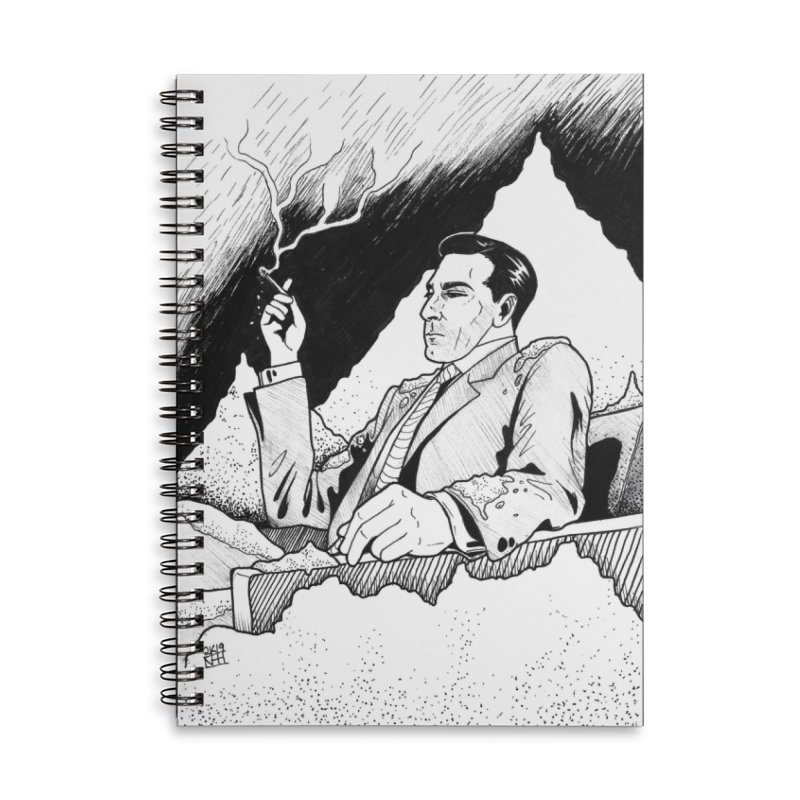 Ashes Accessories Notebook by DEROSNEC's Art Shop