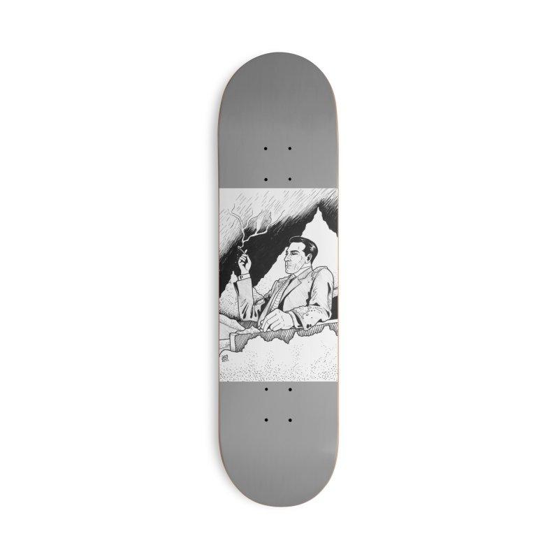 Ashes Accessories Skateboard by DEROSNEC's Art Shop