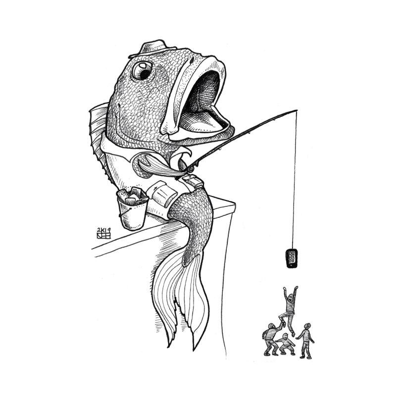 Fish Fish You Home Fine Art Print by DEROSNEC's Art Shop
