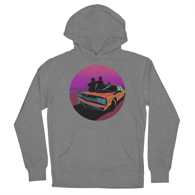 Blues Brothers Flashback Women's Pullover Hoody by DEROSNEC's Art Shop