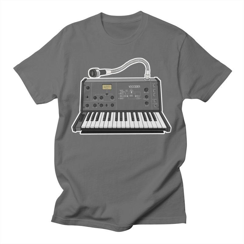Vocoder Throwback Men's T-Shirt by DEROSNEC's Art Shop