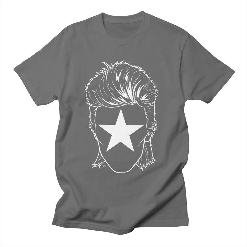 Blackstar Bowie Men's T-Shirt by DEROSNEC's Art Shop