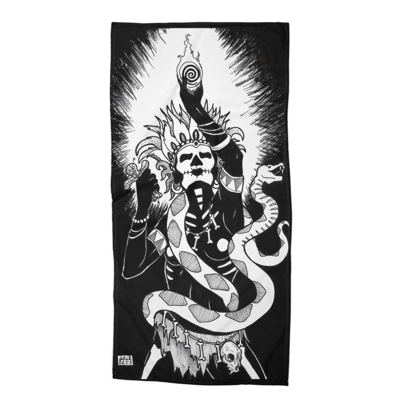Who Do That Voodoo Accessories Beach Towel by DEROSNEC's Art Shop