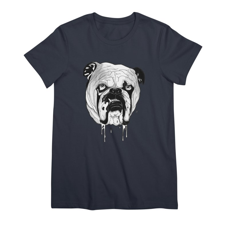 Drooling Women's Premium T-Shirt by DEROSNEC's Art Shop