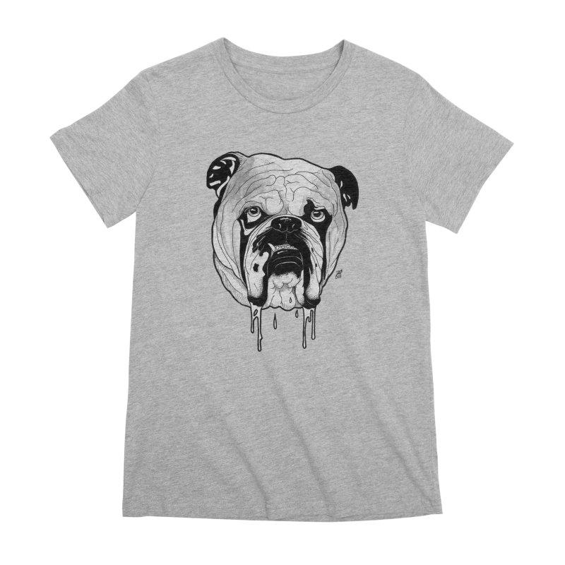 Drooling Women's Premium T-Shirt by DEROSNEC's Art Shop
