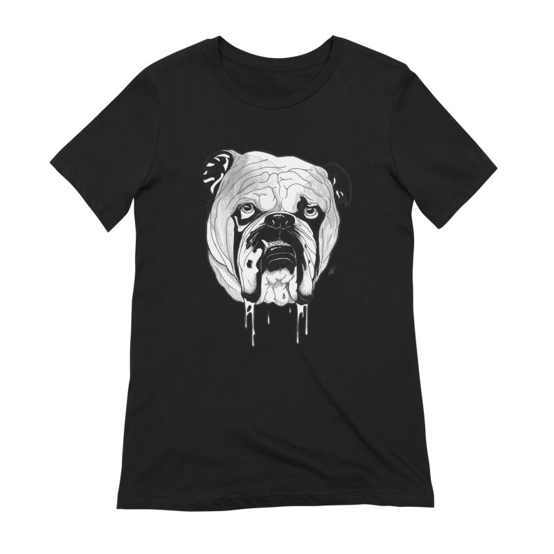 Drooling Women's Extra Soft T-Shirt by DEROSNEC's Art Shop