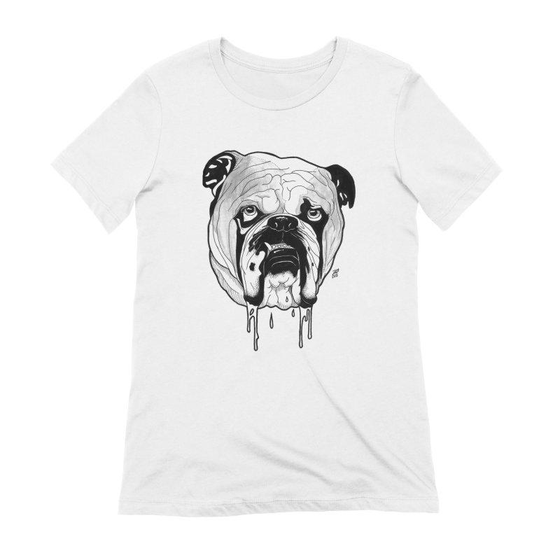 Drooling Women's Extra Soft T-Shirt by DEROSNEC's Art Shop
