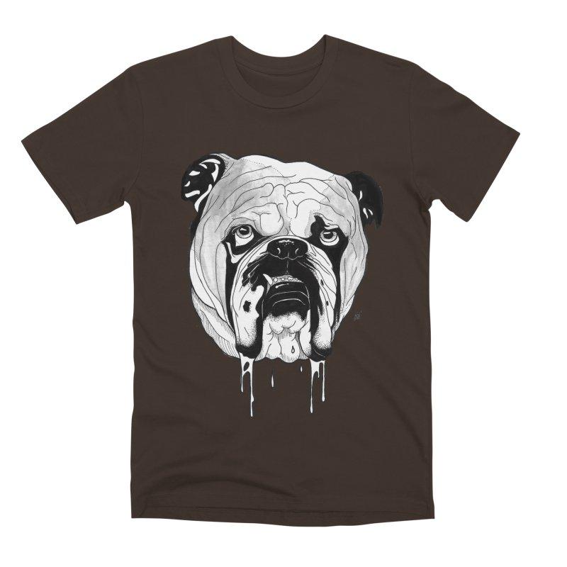 Drooling Men's Premium T-Shirt by DEROSNEC's Art Shop