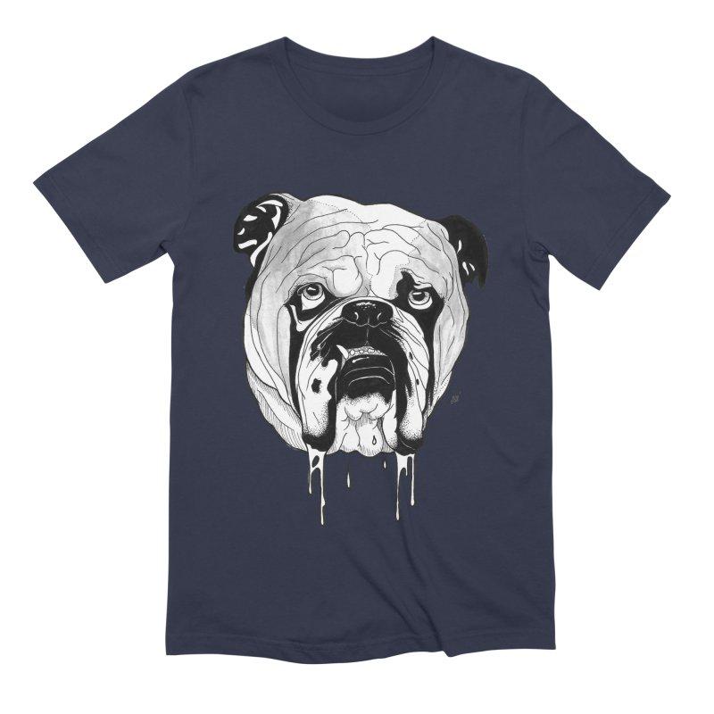Drooling Men's Extra Soft T-Shirt by DEROSNEC's Art Shop