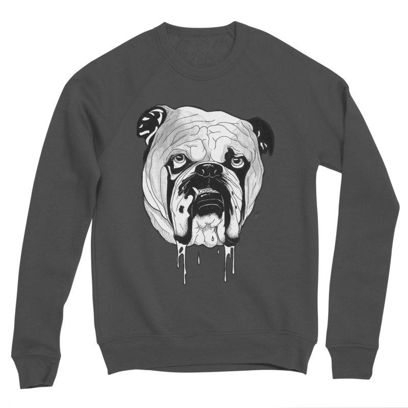 Drooling Men's Sponge Fleece Sweatshirt by DEROSNEC's Art Shop