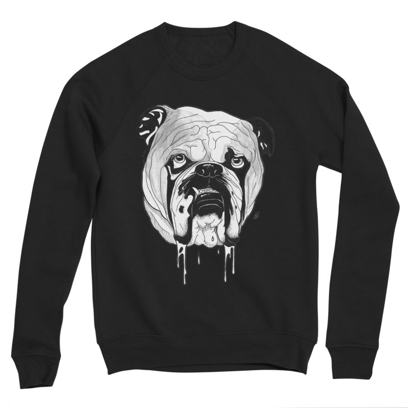 Drooling Women's Sponge Fleece Sweatshirt by DEROSNEC's Art Shop