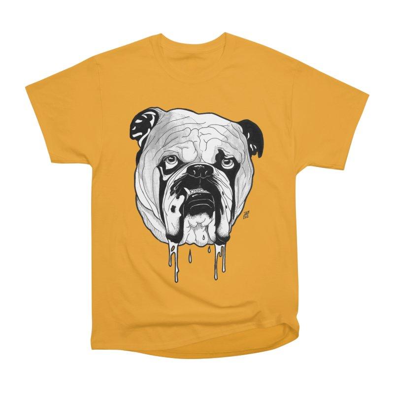 Drooling Men's Heavyweight T-Shirt by DEROSNEC's Art Shop