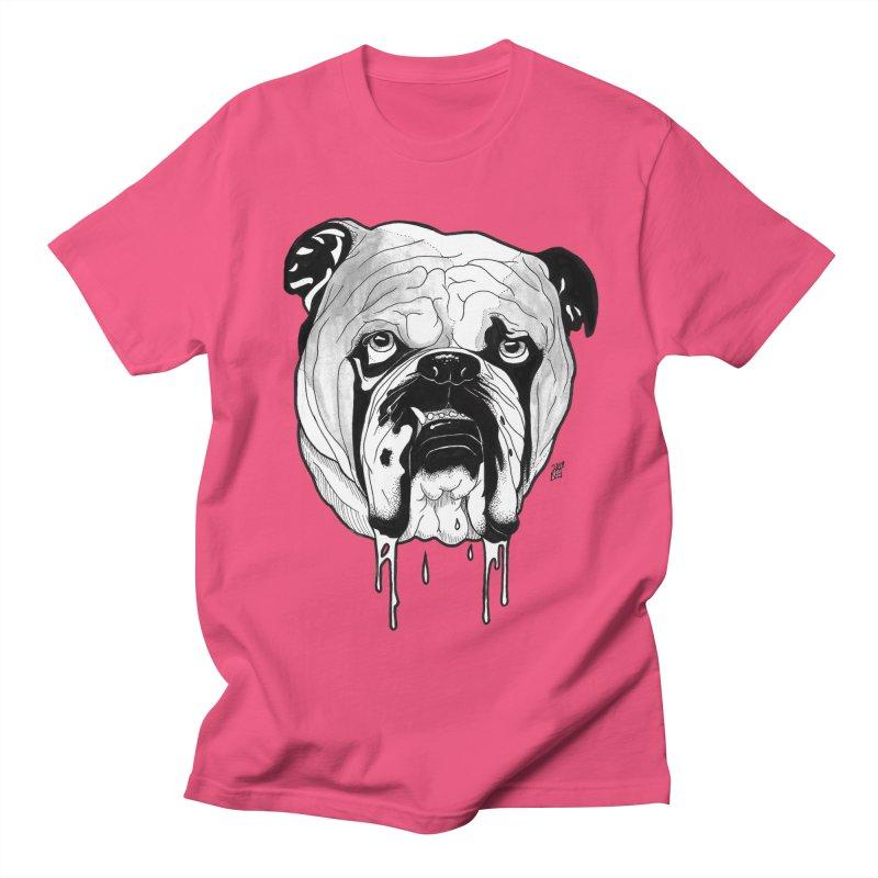 Drooling Men's Regular T-Shirt by DEROSNEC's Art Shop