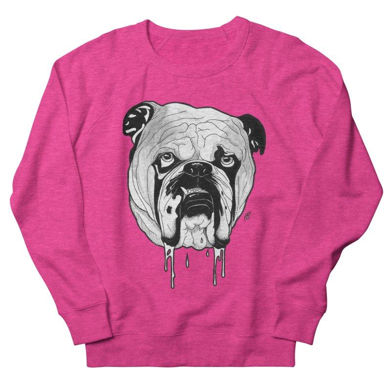 Drooling Women's French Terry Sweatshirt by DEROSNEC's Art Shop