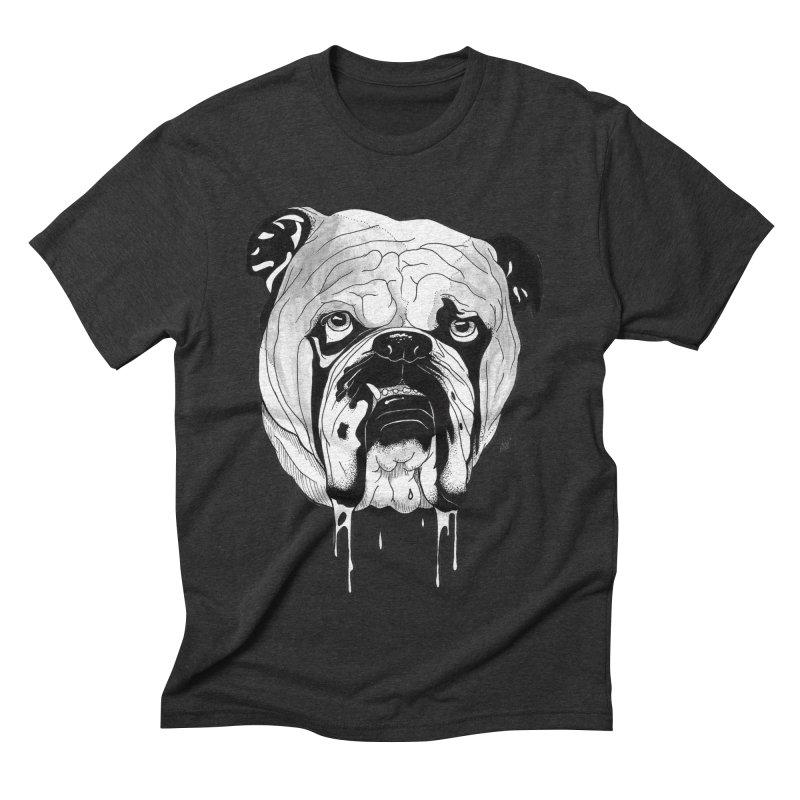 Drooling Men's Triblend T-Shirt by DEROSNEC's Art Shop
