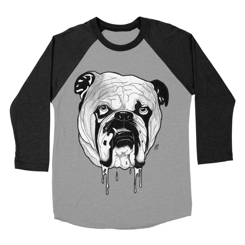 Drooling Women's Baseball Triblend Longsleeve T-Shirt by DEROSNEC's Art Shop