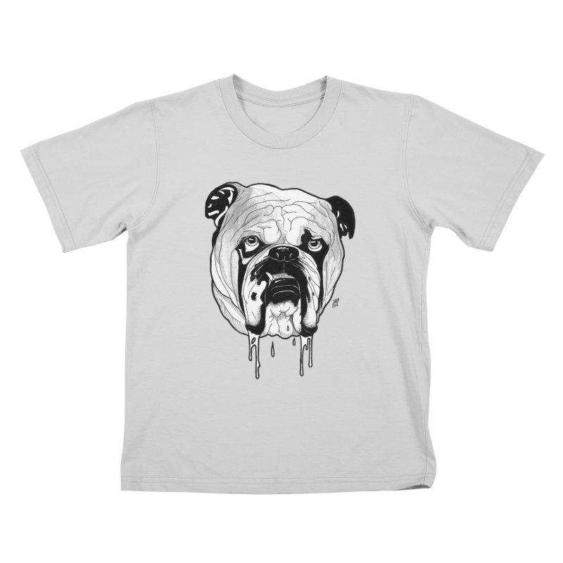 Drooling Kids T-Shirt by DEROSNEC's Art Shop