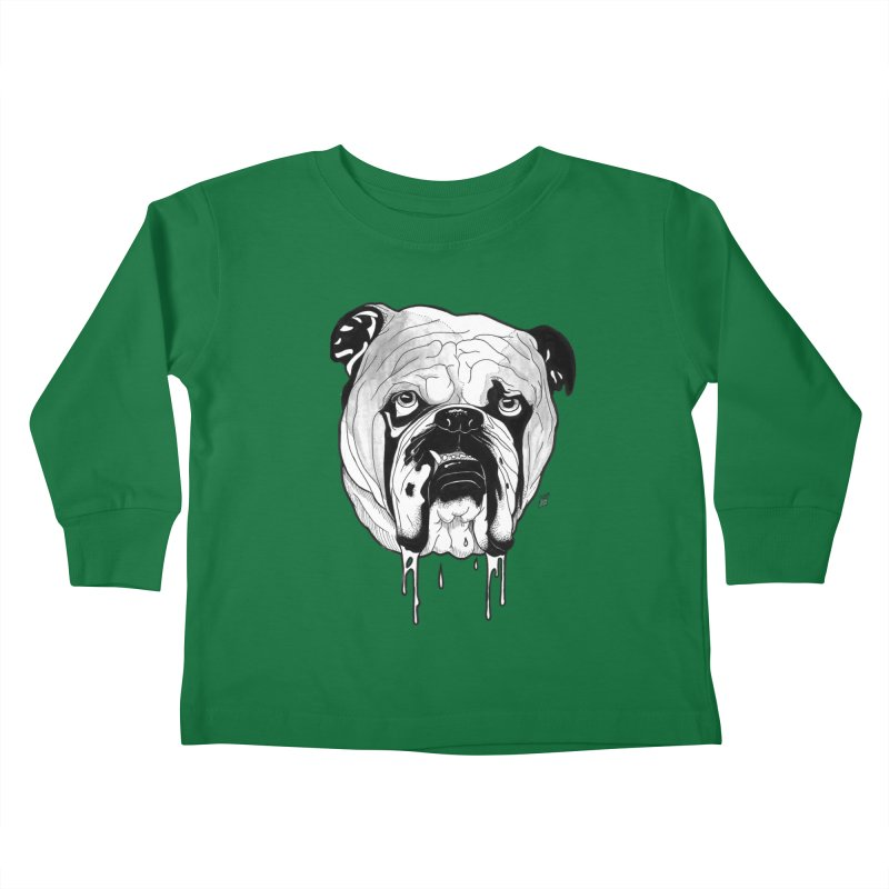Drooling Kids Toddler Longsleeve T-Shirt by DEROSNEC's Art Shop