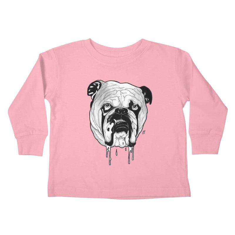 Drooling Kids Toddler Longsleeve T-Shirt by DEROSNEC's Art Shop