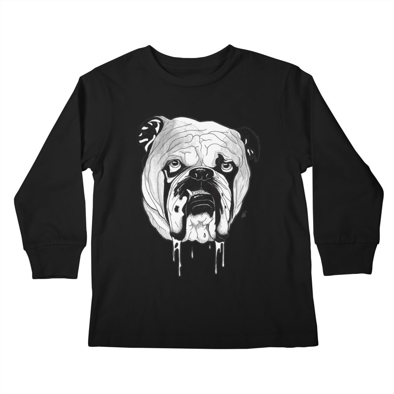 Drooling Kids Longsleeve T-Shirt by DEROSNEC's Art Shop