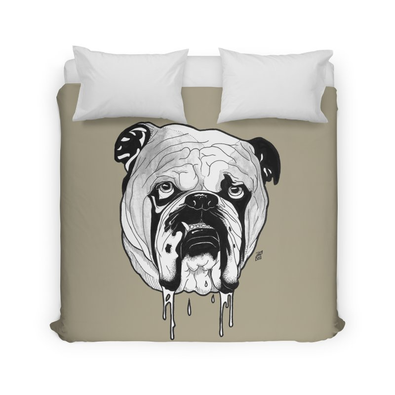 Drooling Home Duvet by DEROSNEC's Art Shop