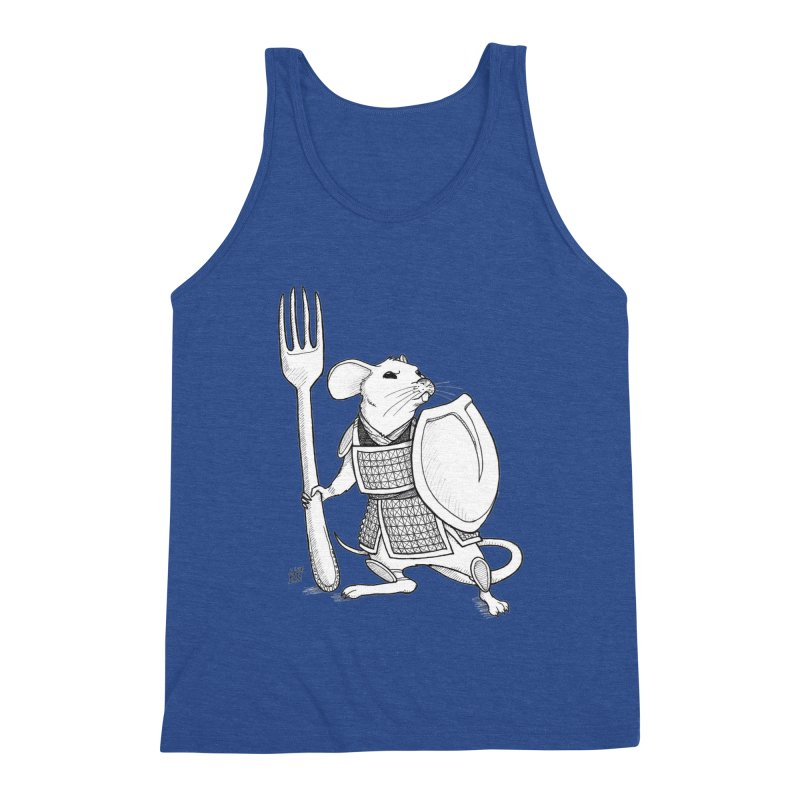 Warrior Mouse Men's Tank by DEROSNEC's Art Shop