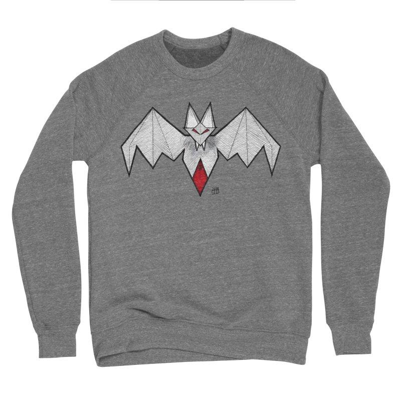 Angular Bat Men's Sponge Fleece Sweatshirt by DEROSNEC's Art Shop