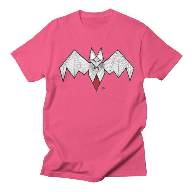 Angular Bat Men's Regular T-Shirt by DEROSNEC's Art Shop