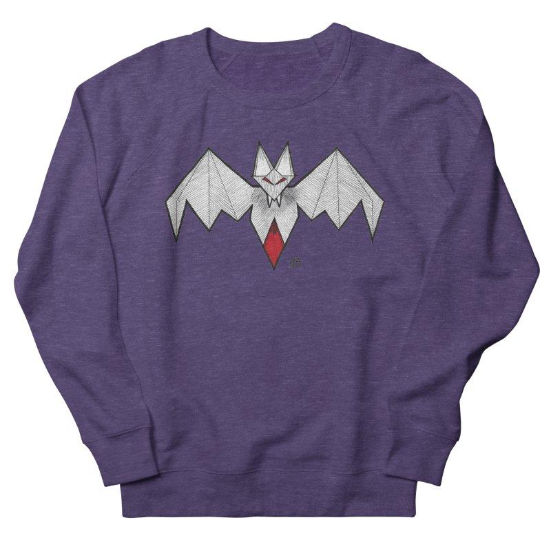 Angular Bat Women's French Terry Sweatshirt by DEROSNEC's Art Shop