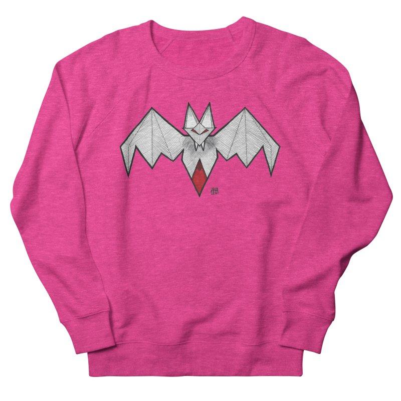 Angular Bat Men's French Terry Sweatshirt by DEROSNEC's Art Shop
