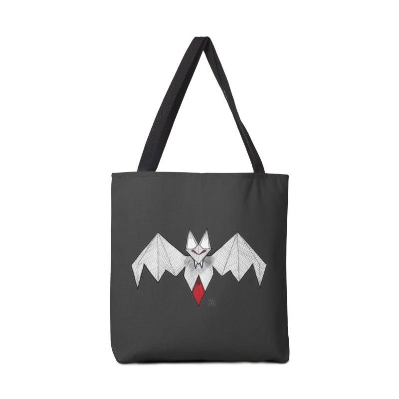 Angular Bat Accessories Tote Bag Bag by DEROSNEC's Art Shop