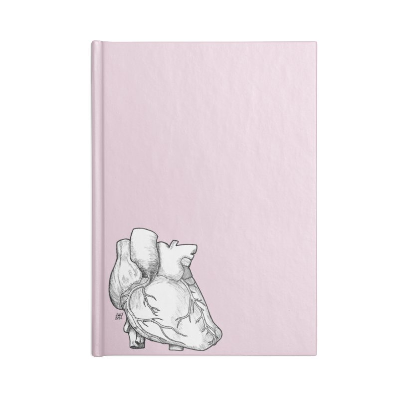 The Most Fragile Part of the Body Accessories Lined Journal Notebook by DEROSNEC's Art Shop