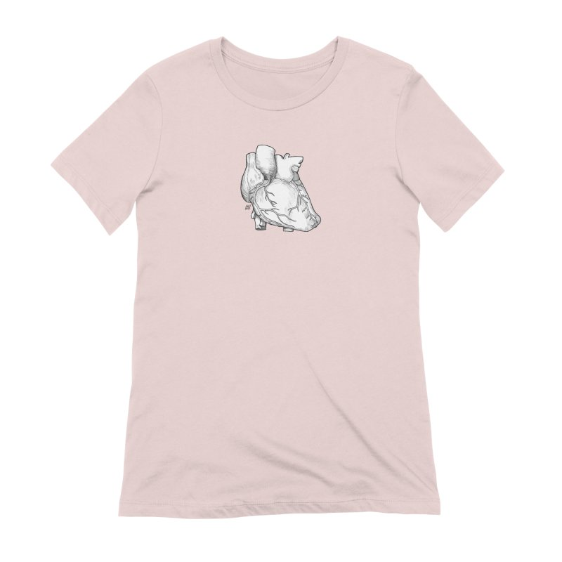 The Most Fragile Part of the Body Women's Extra Soft T-Shirt by DEROSNEC's Art Shop