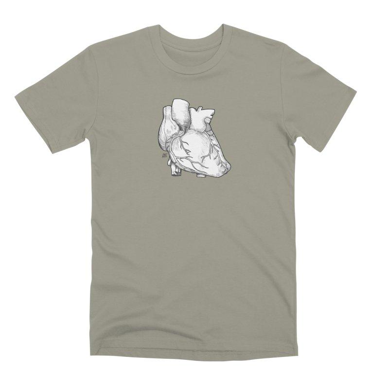 The Most Fragile Part of the Body Men's Premium T-Shirt by DEROSNEC's Art Shop