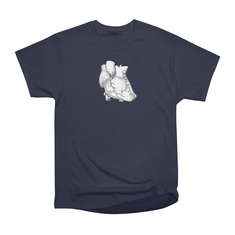 The Most Fragile Part of the Body Men's Heavyweight T-Shirt by DEROSNEC's Art Shop