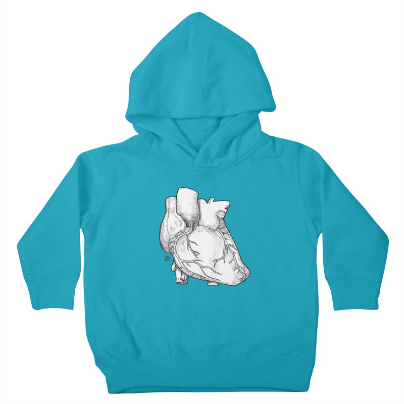 The Most Fragile Part of the Body Kids Toddler Pullover Hoody by DEROSNEC's Art Shop