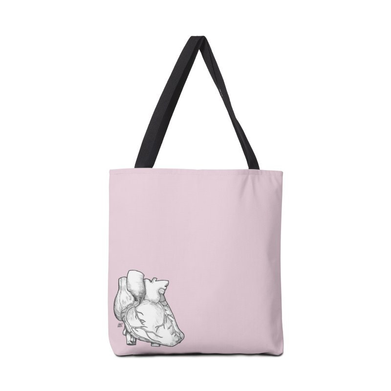 The Most Fragile Part of the Body Accessories Tote Bag Bag by DEROSNEC's Art Shop
