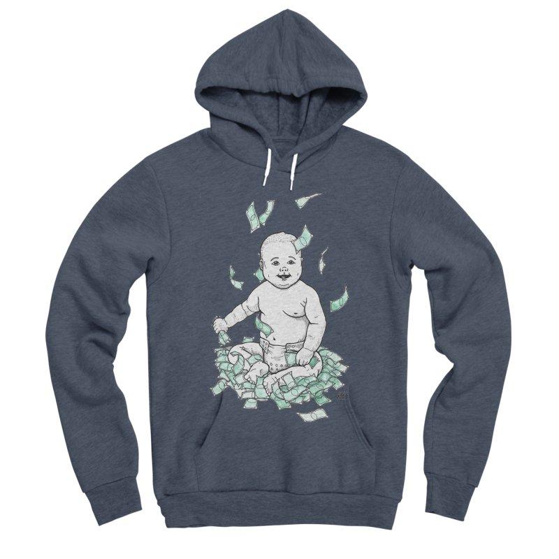Money Baby Women's Sponge Fleece Pullover Hoody by DEROSNEC's Art Shop