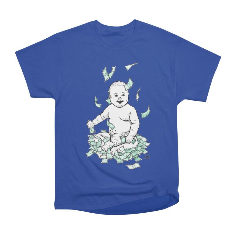 Money Baby Women's Heavyweight Unisex T-Shirt by DEROSNEC's Art Shop