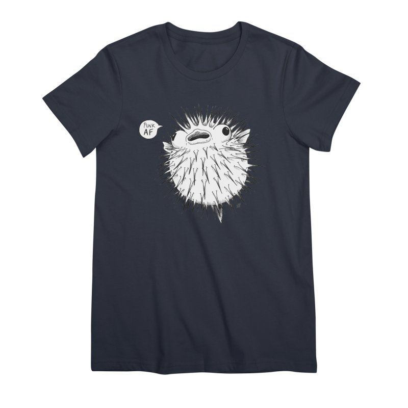 Pokey Punk AF Women's Premium T-Shirt by DEROSNEC's Art Shop