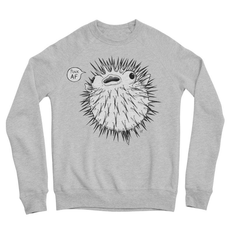 Pokey Punk AF Men's Sponge Fleece Sweatshirt by DEROSNEC's Art Shop