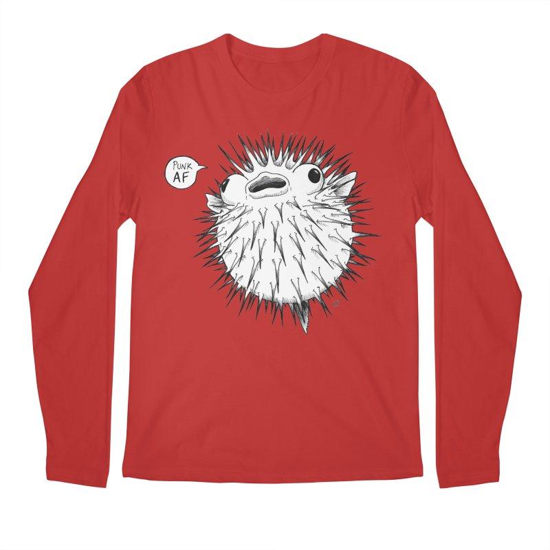 Pokey Punk AF Men's Regular Longsleeve T-Shirt by DEROSNEC's Art Shop
