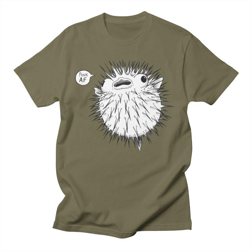 Pokey Punk AF Women's Regular Unisex T-Shirt by DEROSNEC's Art Shop