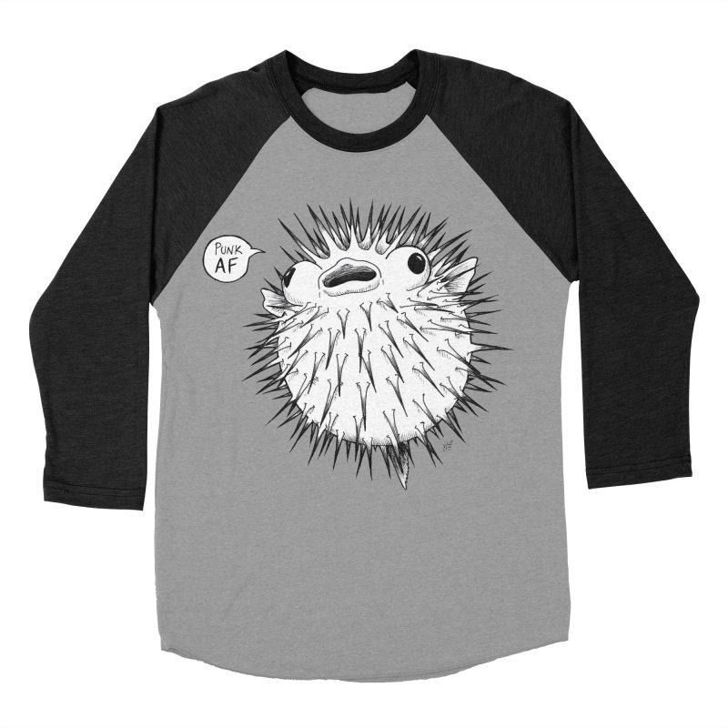 Pokey Punk AF Women's Baseball Triblend Longsleeve T-Shirt by DEROSNEC's Art Shop