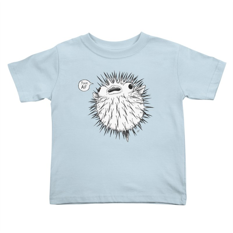 Pokey Punk AF Kids Toddler T-Shirt by DEROSNEC's Art Shop