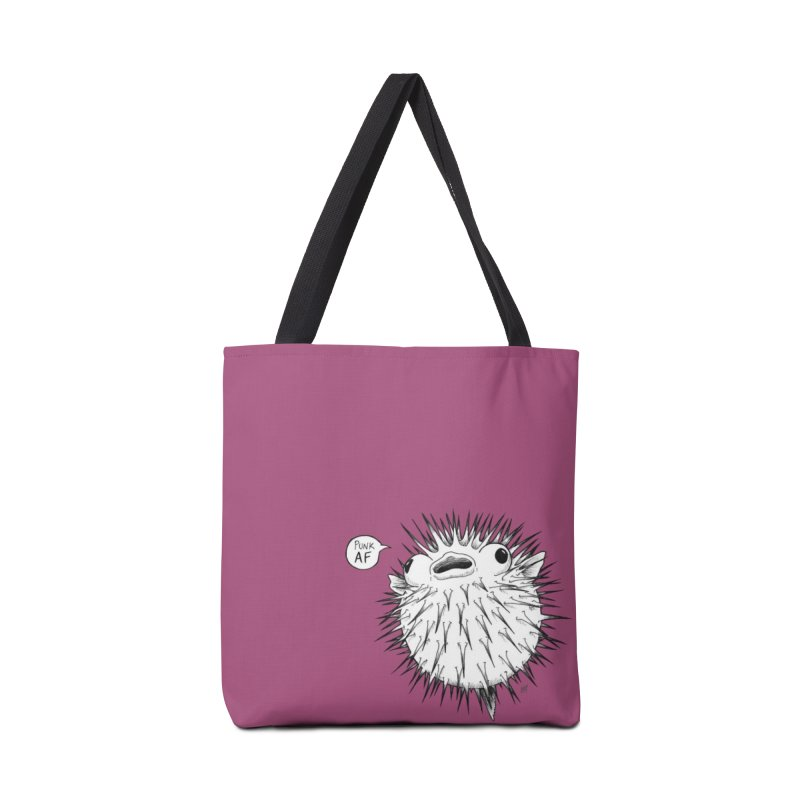 Pokey Punk AF Accessories Tote Bag Bag by DEROSNEC's Art Shop