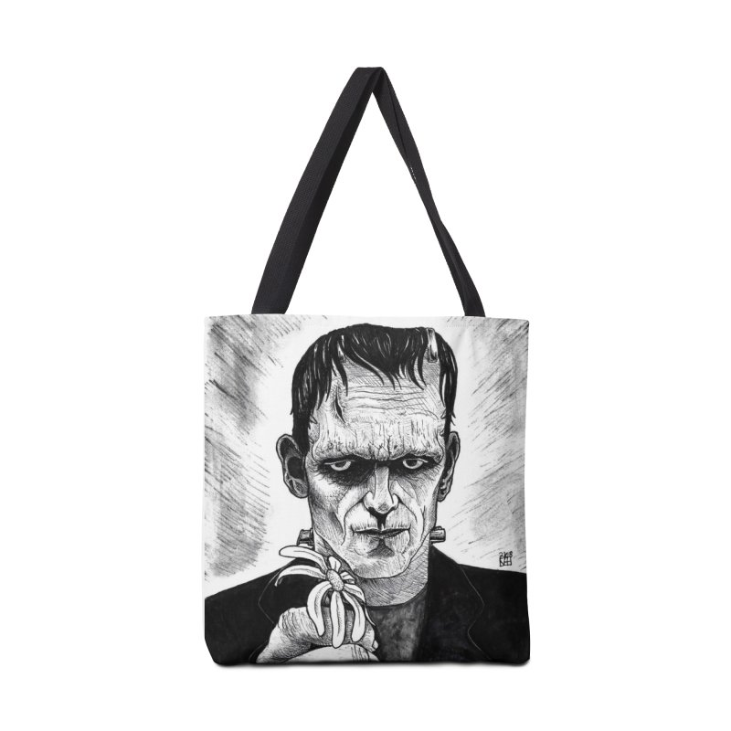 A Gift from the Monster Accessories Tote Bag Bag by DEROSNEC's Art Shop