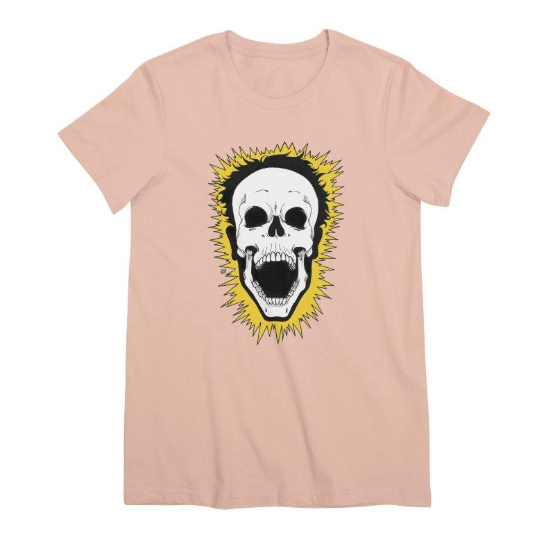 Jolt Women's Premium T-Shirt by DEROSNEC's Art Shop